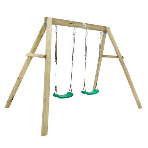 Outdoor Kids Holt Double Swing Set