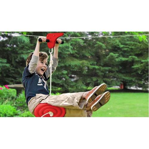 Lifespan Kids Woomera Flying Fox with Monkey Swing