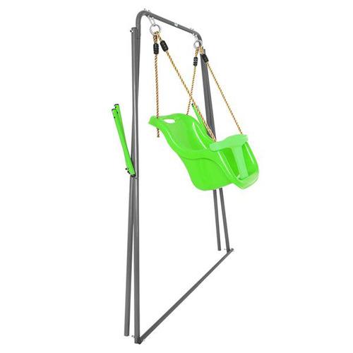 Outdoor Kids Bobcat Foldable Baby Metal Swing Set