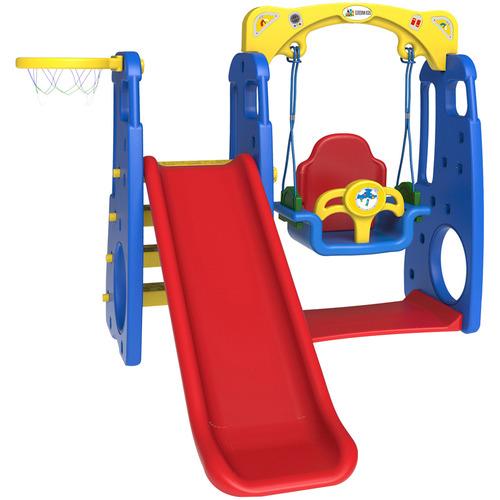 Outdoor Kids Ruby 4 in 1 Swing & Slide