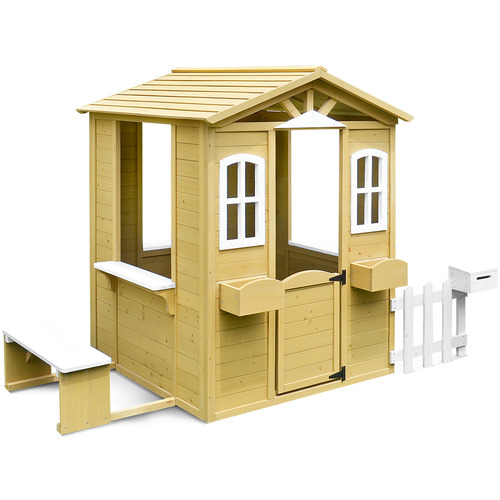 Outdoor Kids Teddy Cubby Play House