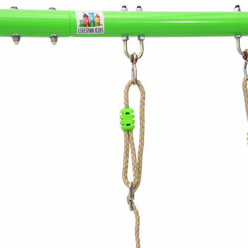 Outdoor Kids Hurley Metal Swing Frame with Slide