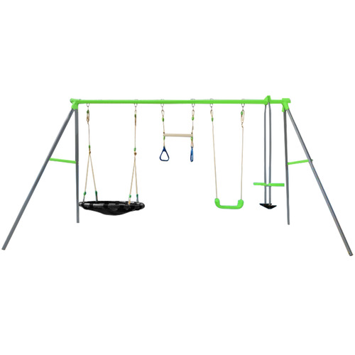 Outdoor Kids Lynx Station Swing Set