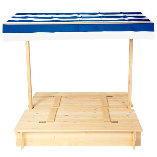 Outdoor Kids Kids' Skipper Sandpit & Canopy Set