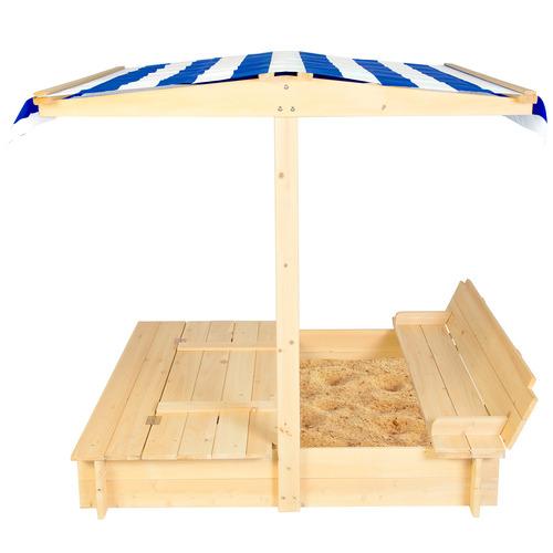 Skipper Sandpit & Canopy Set