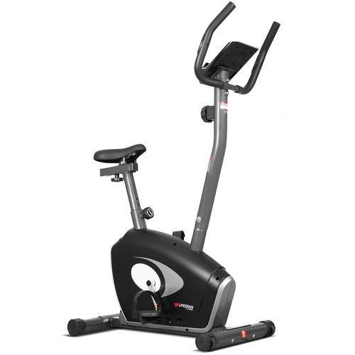 Red Star Fitness Black Steel Exercise Bike