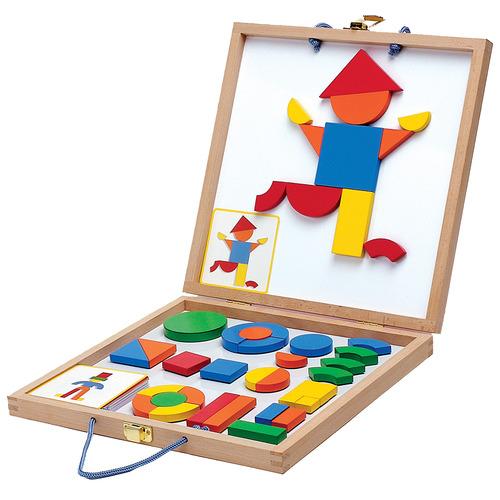 Kids' Geoform Magnetic Piece Set