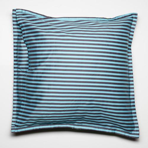 Luxotic Tropicana Charcoal Euro Pillowcase