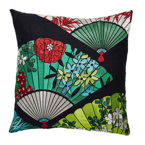 Luxotic Multi-Coloured Fan Cushion