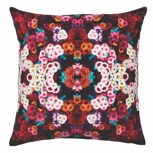 Luxotic Black Giselle Velvet Cushion