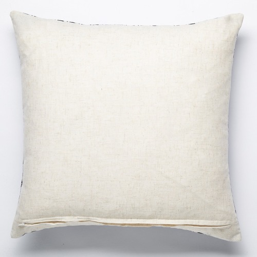 Luxotic Black Chintz Velvet Cushion
