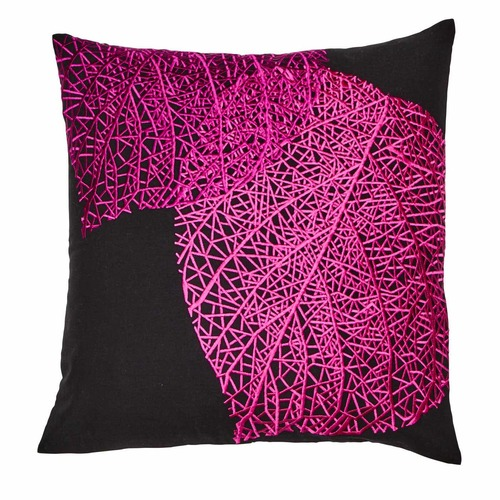 Luxotic Venation Embroidered Cushion