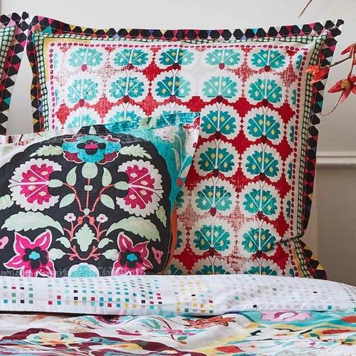 Luxotic Rust Eva Euro Pillowcase