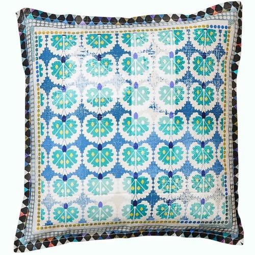 Luxotic Teal Eva Euro Pillowcase