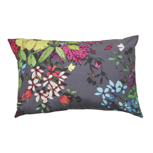 Luxotic Tropicana Charcoal Cushion Feather Filled