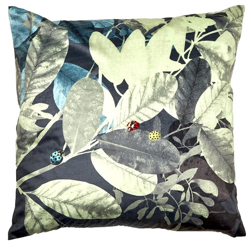 Luxotic Natural Ghost Velvet Cushion
