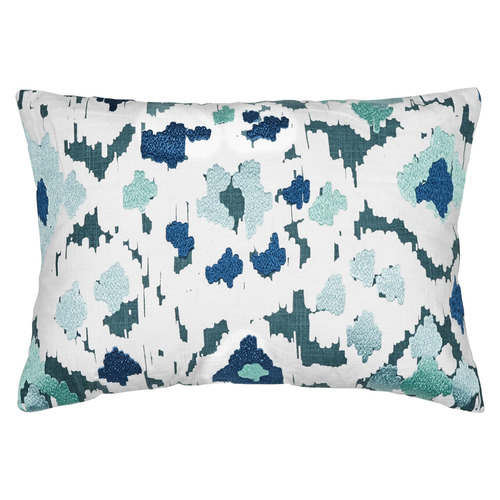 Ikat Linen Blend Cushion
