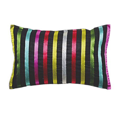 Pencil Stripes Linen Cushion