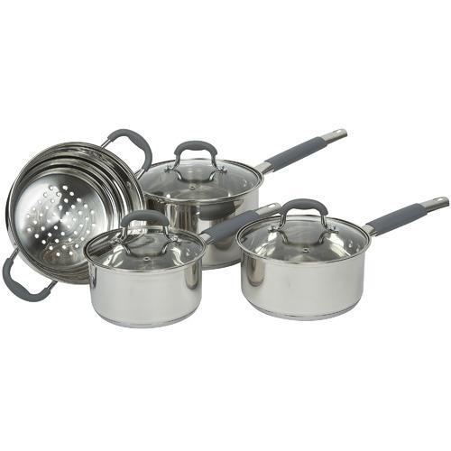 4 Piece Argon Stainless Steel Cookware Set