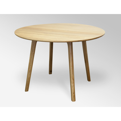 convair oak round dining table temple webster
