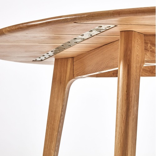 6ixty Convair Oak Round Dining Table
