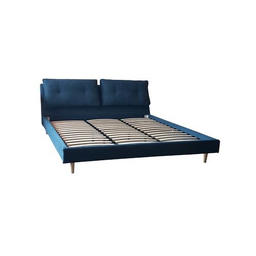 6ixty Blue Viola Upholstered Bed