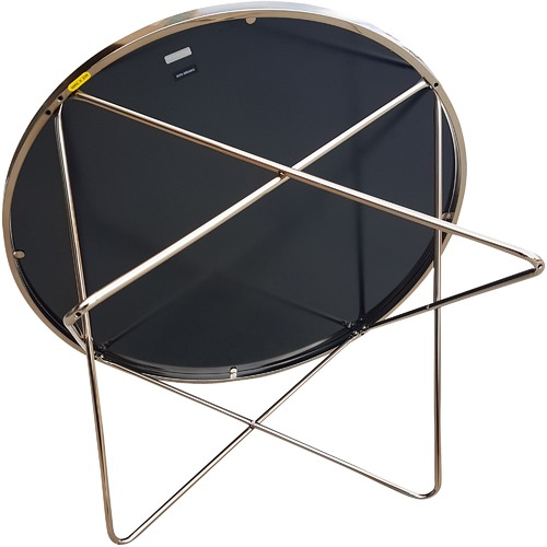 6ixty Champagne Metal Coffee Table