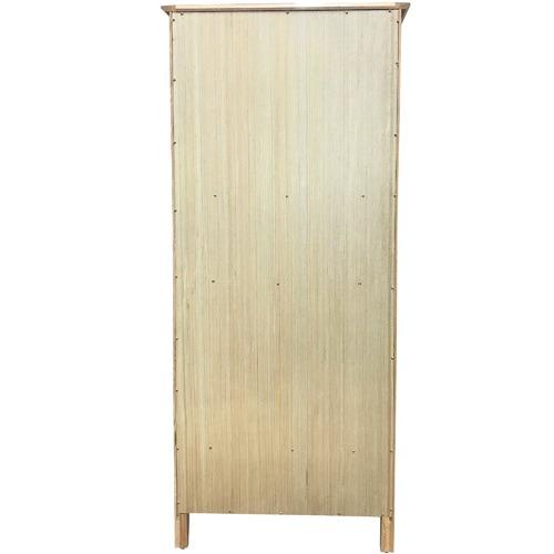 6ixty Tall Carolina American Oak Bookcase