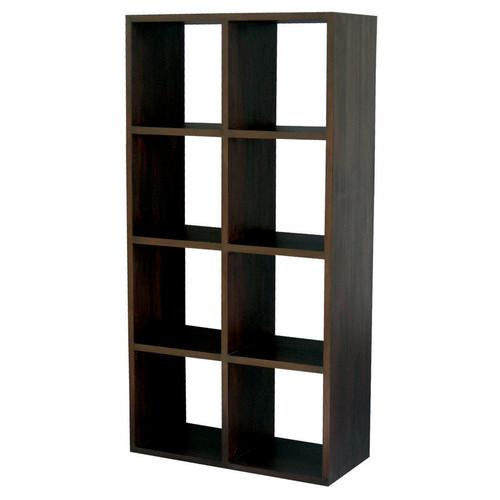 La Verde 8 Shelf Cube Bookcase