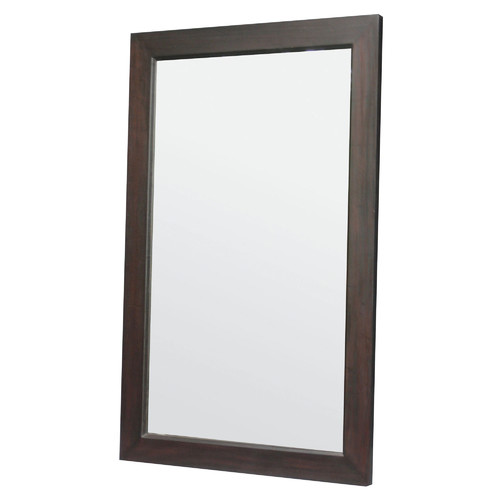 Wooden frame mirror 100 x 160cm temple webster for Miroir 160 x 50