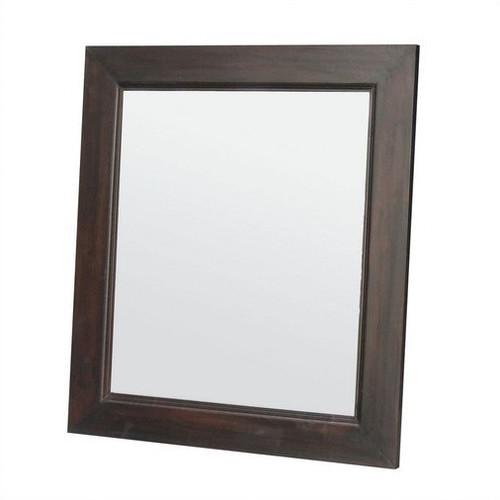 La Verde Wooden Frame Mirror 80 x 90cm