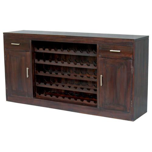 La Verde 2 Door 2 Drawer Wine Rack Reviews Temple Webster