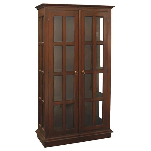 La Verde Glass Side Display Cabinet