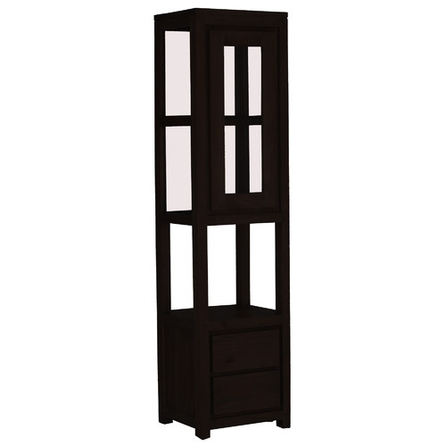 La Verde Amsterdam 1 Door 2 Drawer Display Cabinet