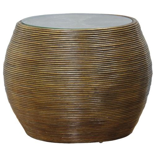 La Verde Round Rattan Tub Chairs & Coffee Table