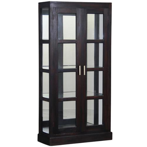 La Verde Milan Mirror Back Display Cabinet