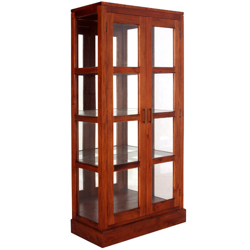 La Verde Milan Mirror Back Display Cabinet