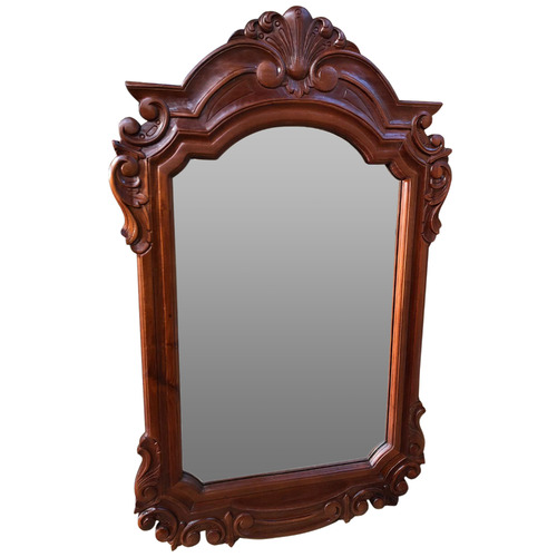 La Verde Carved Wall Mirror