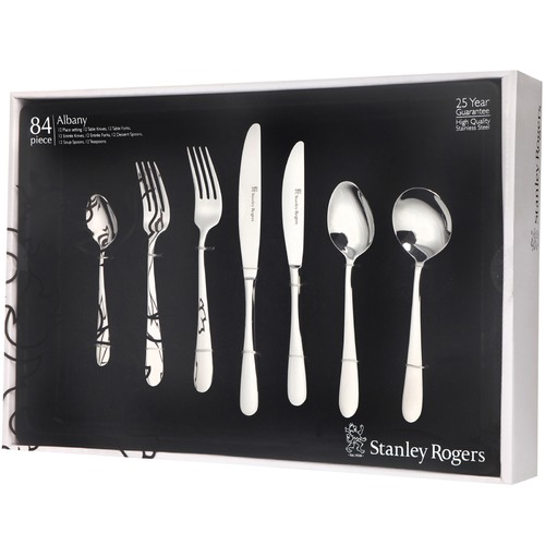 Stanley Rogers 84 Piece Albany Cutlery Set