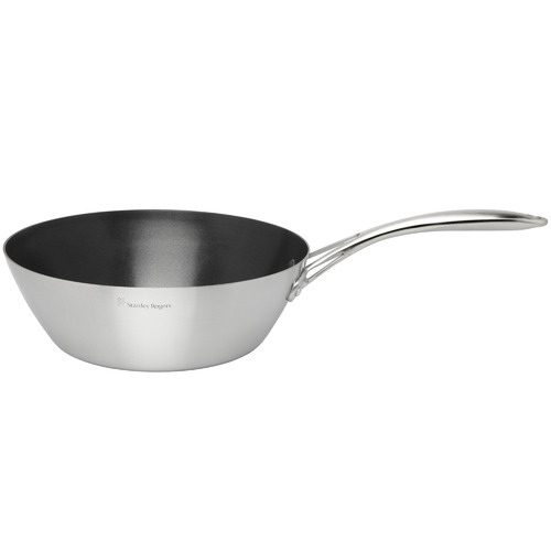 Stanley Rogers Conical Tri-Ply 28cm Stainless Steel Wok