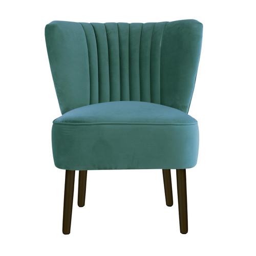 Genial Darcy U0026amp; Duke Aqua Slipper Chair