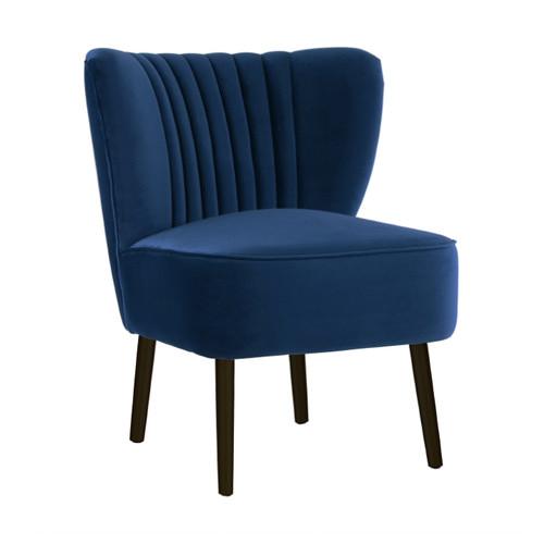 Genial Darcy U0026amp; Duke French Navy Slipper Chair