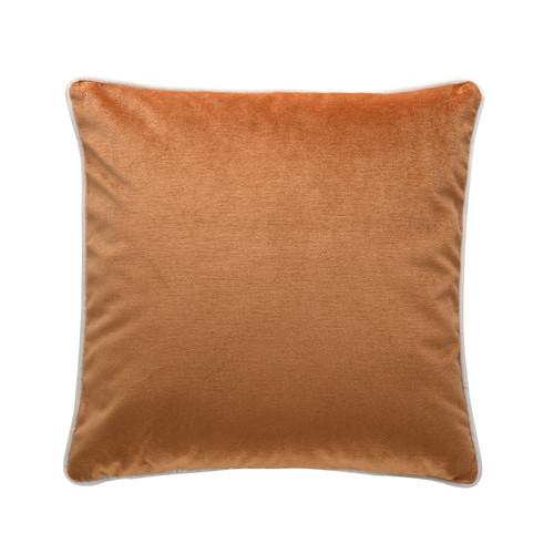 Park Avenue Burnt Orange Luxury Velvet Cushion