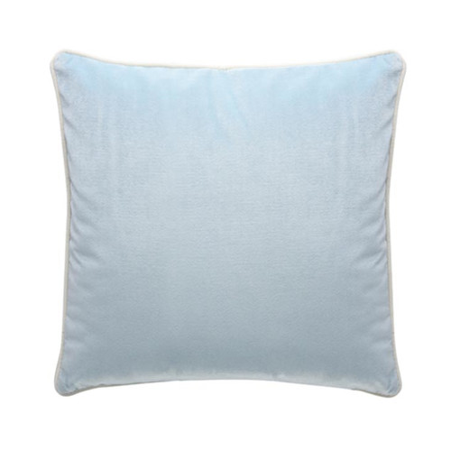 Park Avenue Ice Blue Luxury Velvet Cushion
