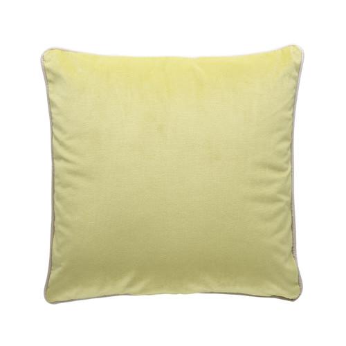 Park Avenue Lime Green Luxury Velvet Cushion