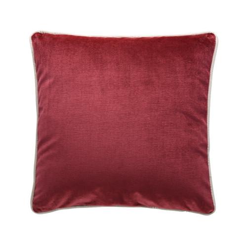 Park Avenue Merlot Luxury Velvet Cushion