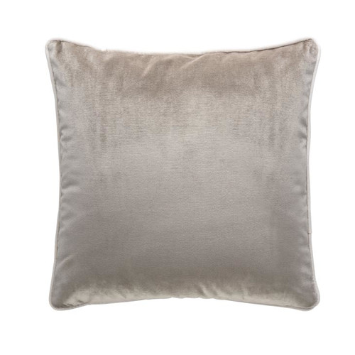 Park Avenue Smoke Grey Luxury Velvet Cushion