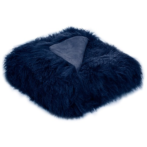 Park Avenue Tibetan Fur Skin Throw