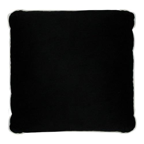 Park Avenue White & Black Luxury Velvet Cushion