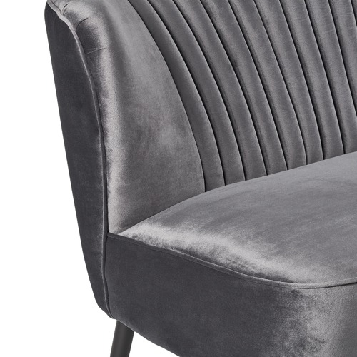 Park Avenue Charcoal Two Seater Sofa